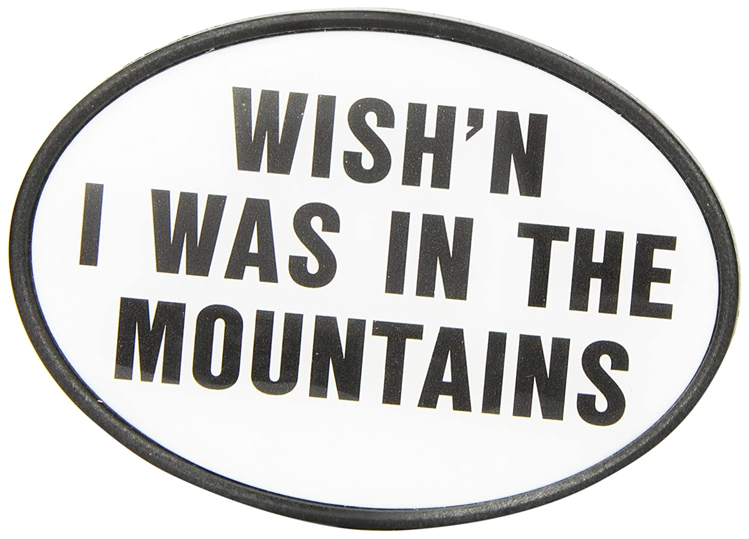 Knockout 695 Wishn I was in the Mountains Hitch Cover