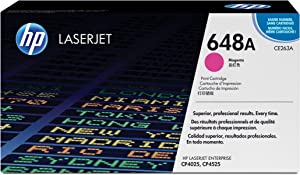 HP 648A | CE263A | Toner Cartridge | Magenta