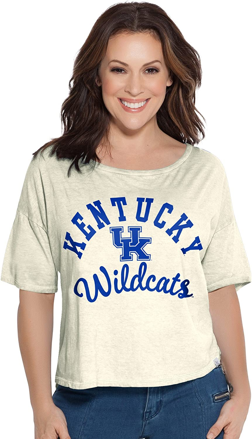 Touch by Alyssa Milano NCAA Womens Second Base Reversible Tee