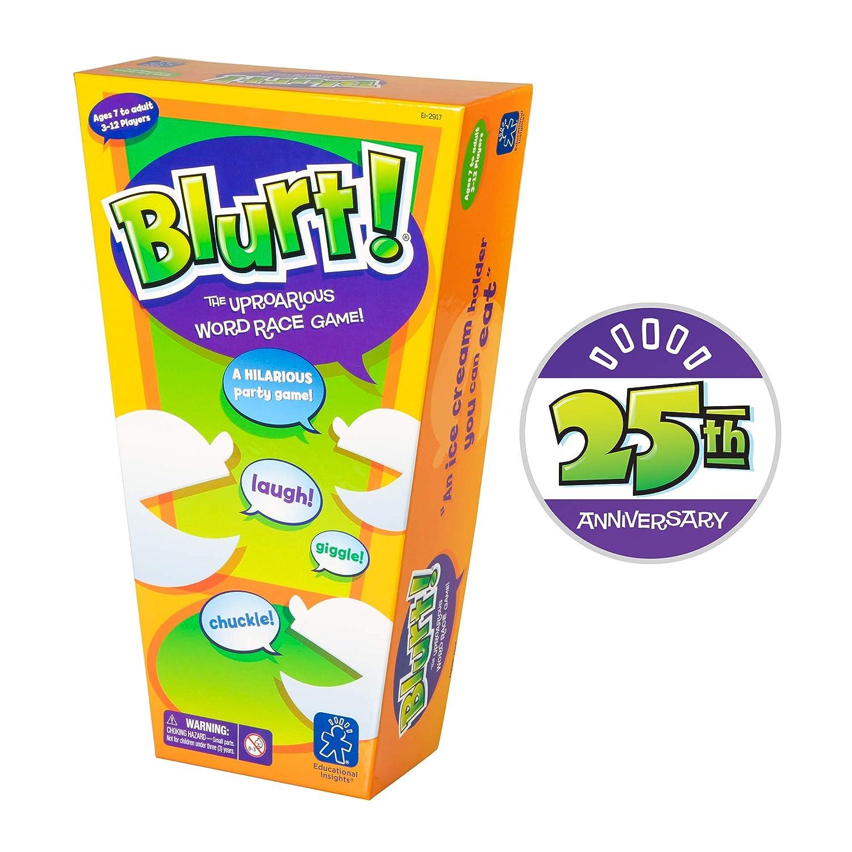 Learning Resources Juego de Desarrollo de Vocabulario Blurt, Color ...
