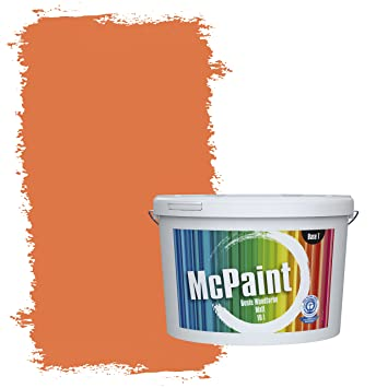 Mcpaint Bunte Wandfarbe Aprikose 5 Liter Weitere Orange Farbtöne