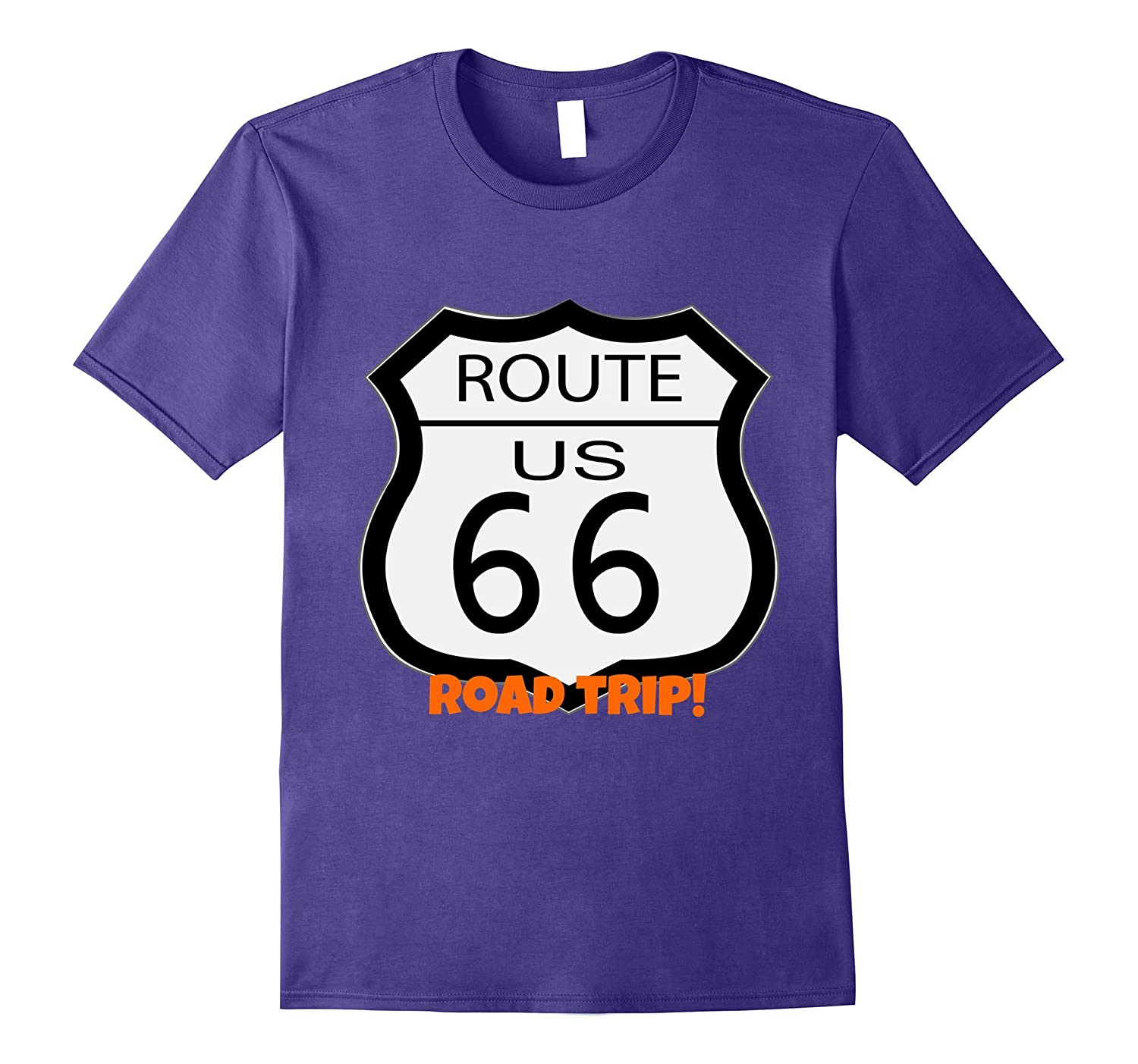 Route 66 Road Trip Travel Novelty T-Shirt - Men and Women-PL