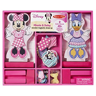 Minnie and Daisy Wooden Magnetic Dress-Up Play Set by Melissa & Doug 5783
