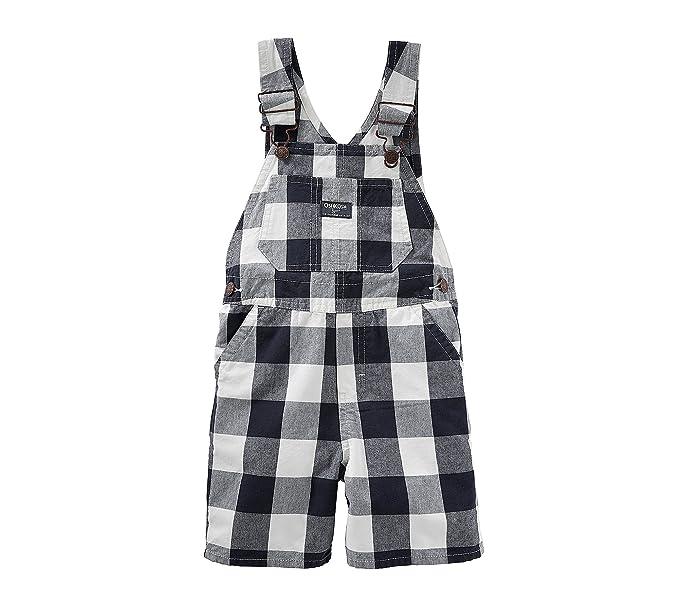 157aba53f OshKosh B'Gosh - Pantalón de peto - para bebé niño azul azul, blanco ...