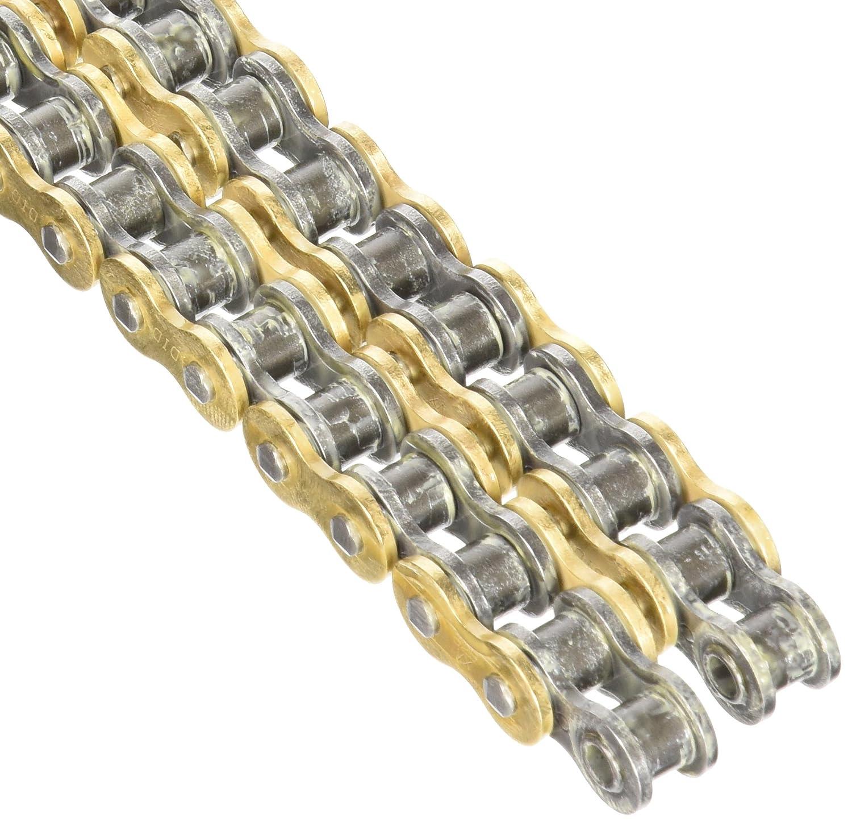 DID 525VXGB-114 ゴールド Xリングチェーン 接続リンク付き   B006O8613M