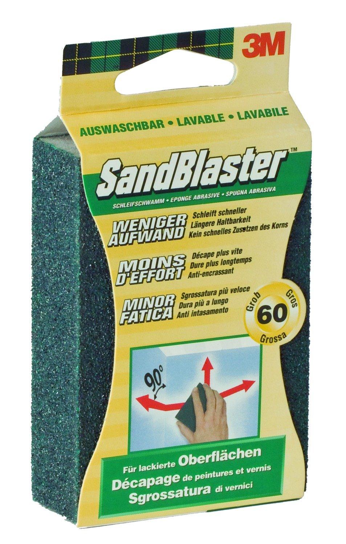 Command 62021 Sandblaster esponja abrasiva 60 para decapar 9, 5 x 6, 5 x 2, 5 cm FT510100520