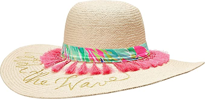 Lilly Pulitzer Women s Sun Goddess Hat Natural One Size at Amazon ... dd4b1462bd5