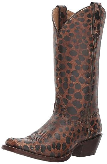 984ae10f1e6c ARIAT Wildcat Western Boot Naturally Distressed Leopard P Size 5.5 B/Medium  Us