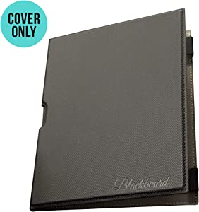 Boogie Board Black Folio Protective Cover for Blackboard Letter, 8.5 x 11 Size (Board Sold Separately)
