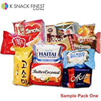 KOREAN PREMIUM SNACK BOX_Assorted Package Popular Deluxe Korean Brand Snacks and More! Perfect for GIFT | College Care Package | Gift Care Package (19 packs)