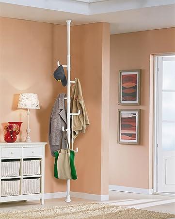 Fabulous SoBuy® Garderobe, Kleiderständer, Garderobenständer mit 6 Haken  UR08