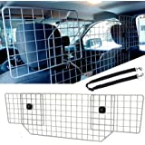 """CO-Z Large 36.2-70"""" Dog Barrier with Double-Head Dog Leash for SUV, Car, Van, Truck & Vehicles, Universal Fit, Heavy-Duty Adj"""