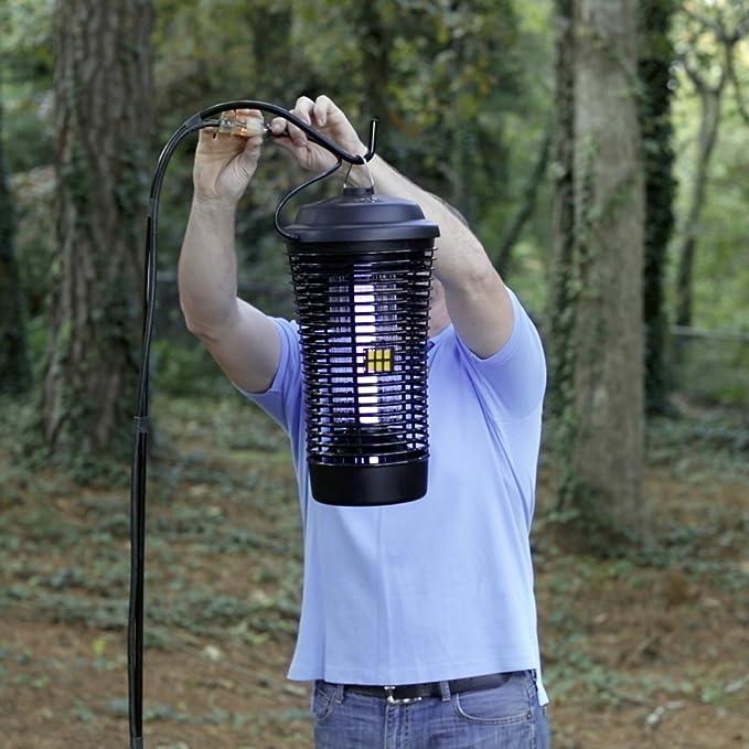 Amazon.com : Black Flag BZ-40-DX 40-Watt Deluxe Outdoor Bug Zapper : Home Insect Zappers : Garden & Outdoor