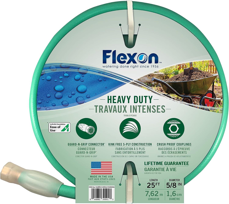 Flexon 5/8 x 25ft Heavy Duty Garden Hose