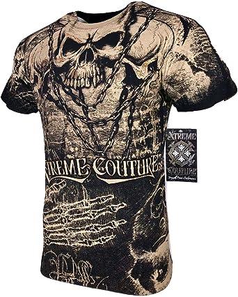 XTREME COUTURE by AFFLICTION Men T-Shirt DARK HORSE Biker Biker MMA GYM S-4X $40