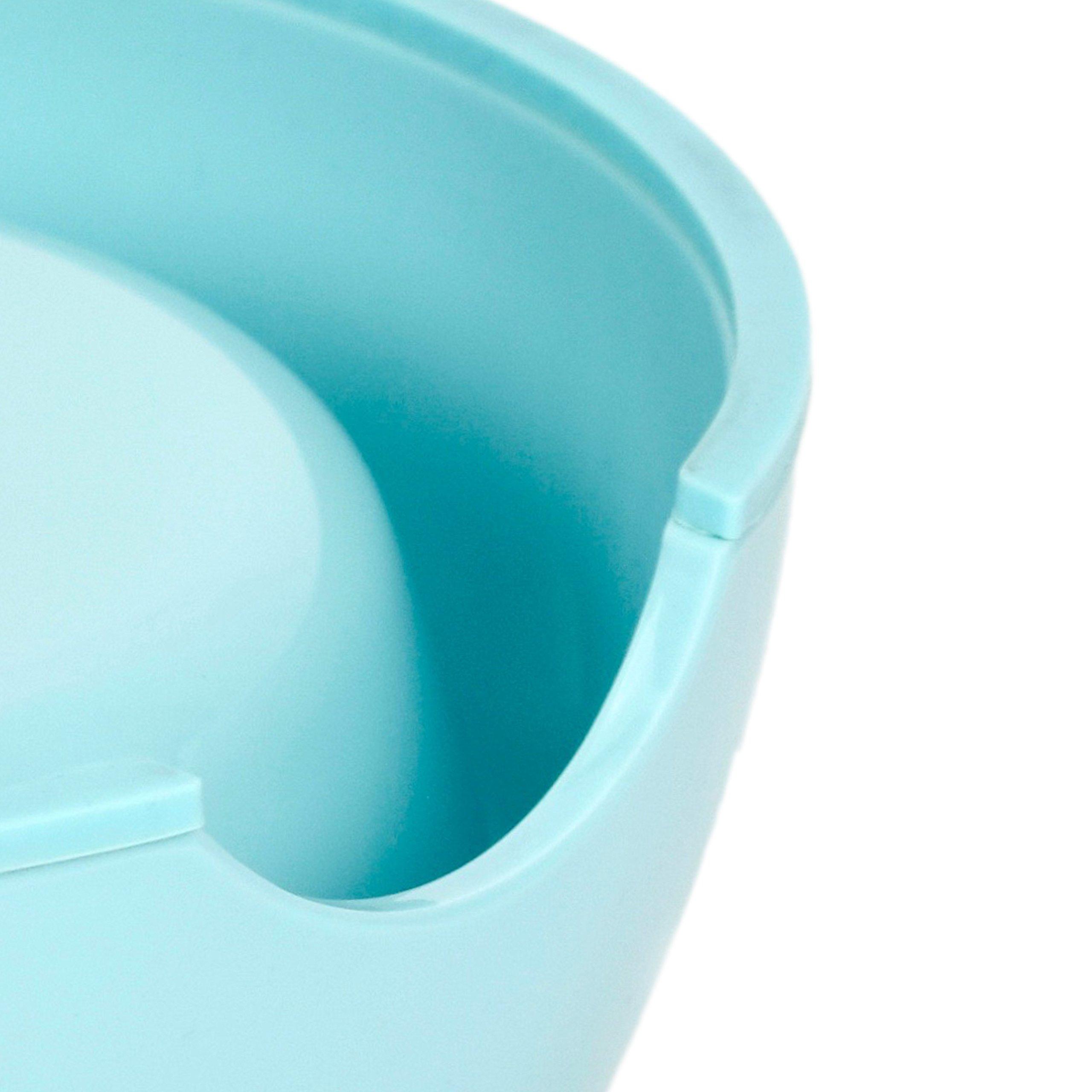 Martha Stewart Slow Feeder Pet Bowl, Blue, 6 fl. oz.