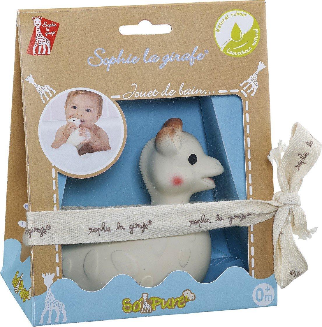Sophie la girafe - Juguete de baño, 100% hevea Natural (Vulli 220118) bb bebé caucho grenadine