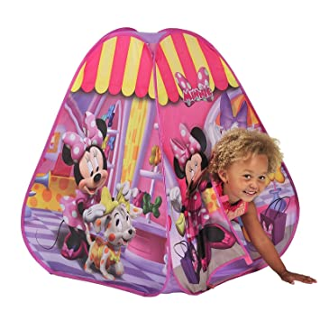 Minnie Mouse Pop Up Play Tent  sc 1 st  Amazon UK & Minnie Mouse Pop Up Play Tent: Amazon.co.uk: Toys u0026 Games
