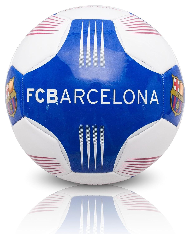 Barcelona FC Flare Panel - Balón de fútbol, Color Blanco/Azul ...