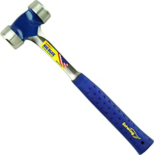 product image for Estwing Lineman's Hammer - 40 oz Electrical Utility Tool with Smooth Face & Shock Reduction Grip - E3-40L