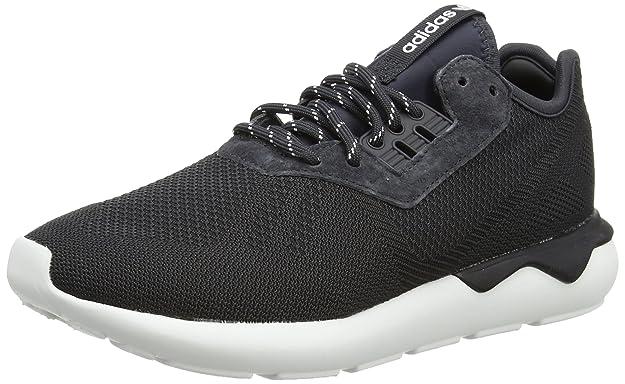 adidas Tubular Runner Weave, Baskets Mode pour Homme Gris Grey (Carbon S14/Carbon S14/Ftwr White) 45 1/3 EU