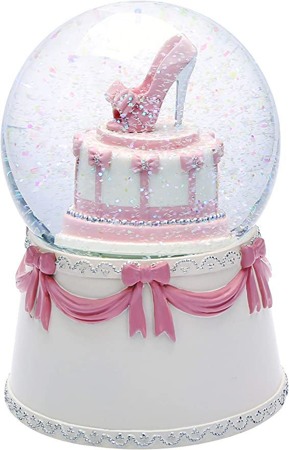 Excellent Amazon Com J Jhouselifestyle Musical Snow Globes For Girls High Birthday Cards Printable Nowaargucafe Filternl