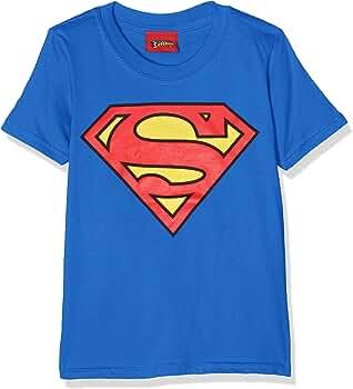 DC Comic Superman Logo, Camiseta para Niños, Azul (Royal Blue), 3-4 años (Talla del fabricante: XS): Amazon.es: Ropa y accesorios