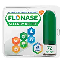 Flonase Allergy Relief Nasal Spray 72 Sprays, 1 Count