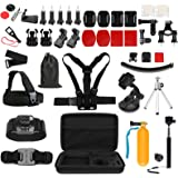 SHOOT 51-in-1 Outdoor Sports Action Camera Accessories Kit for GoPro Hero7 Hero 6 Hero5 Hero4