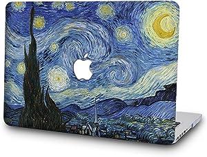 "SAYA Plastic Hard Case for MacBook Pro 13"" Retina Display No CD-ROM Model A1502/A1425 (Version 2105/2014/2013/end 2012) (Starry Night)"