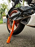 explore moto jack for bike chain maintenance, cleaning, Puncture Check Assistance(for double sided swingarm bikes under 300kg)