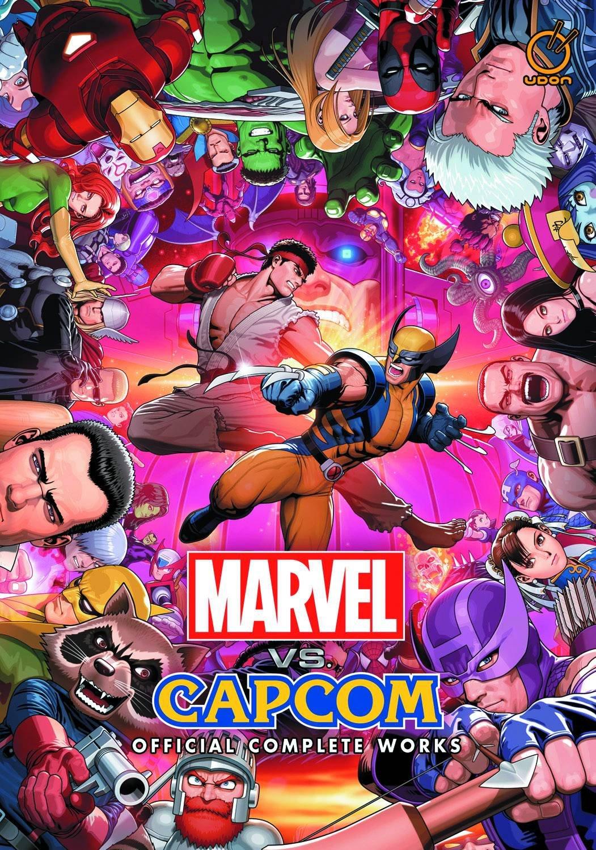 Marvel vs. Capcom: Official Complete Works - cover