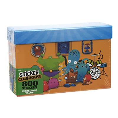 Paper Magic Sticker Clubhouse 800 Count Sticker Box: Toys & Games