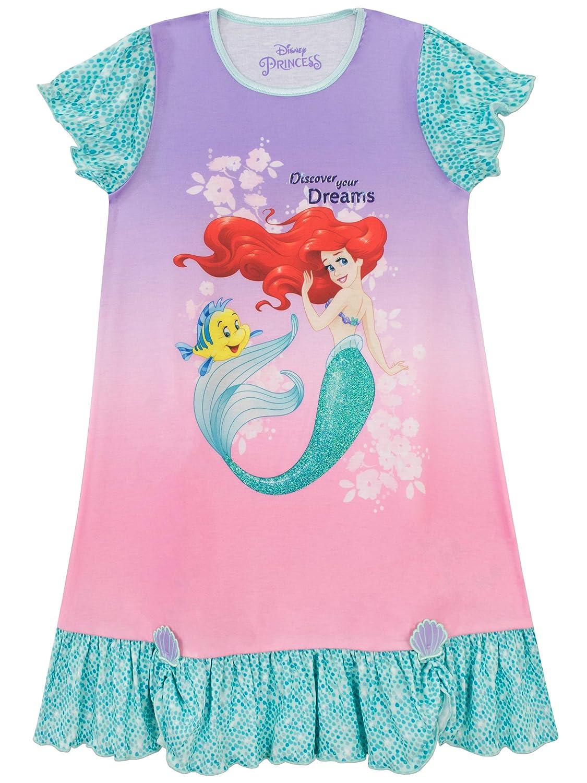 Disney Mädchen The Little Mermaid Nachthemden