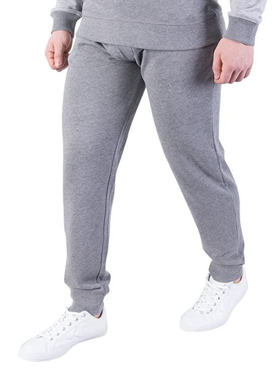 Tommy Hilfiger Mens Marled Joggers, Grey at Amazon Mens Clothing store: