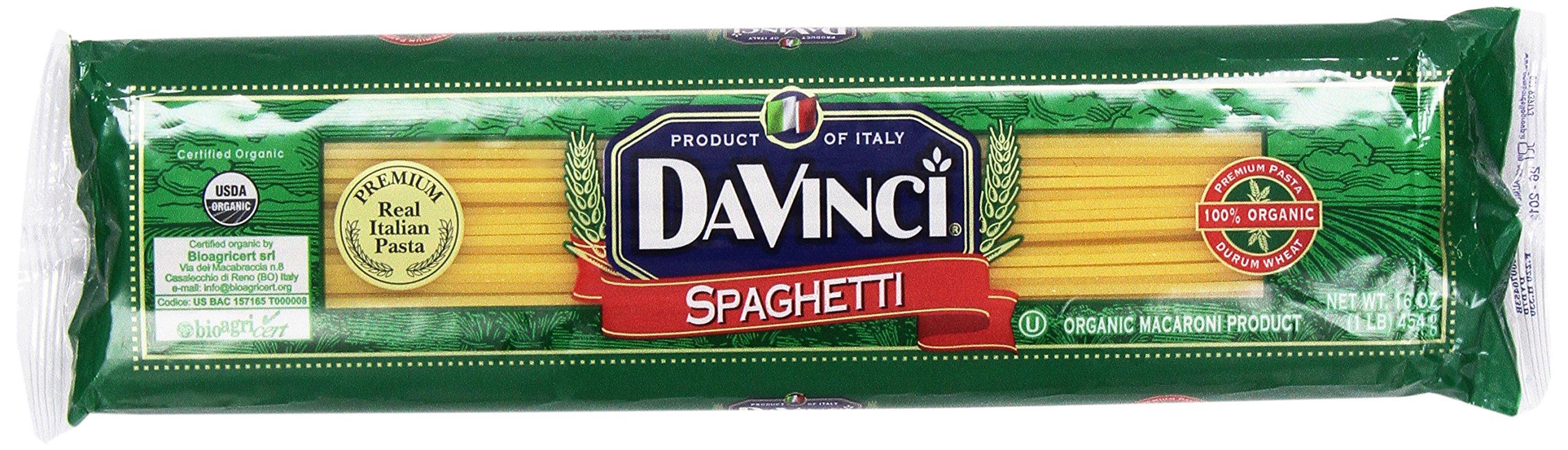 Da Vinci Organic Spaghetti, 16 oz by DaVinci