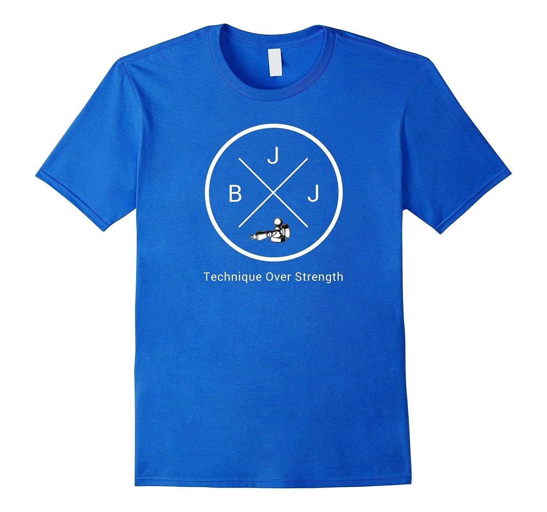 BJJ - Brazilian Jiu Jitsu Technique Chess T-Shirt v2-T-Shirt