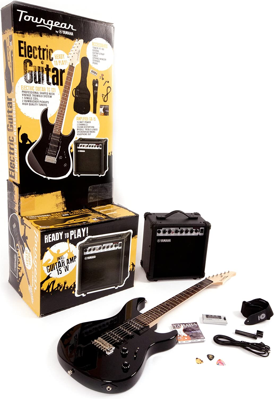 Tourgear por Yamaha TG 121 UBLPACK juego completo de guitarra eléctrica: Amazon.es: Instrumentos musicales