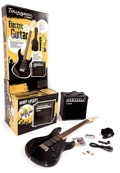Tourgear por Yamaha TG 121 UBLPACK juego completo de guitarra eléctrica