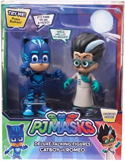 PjMasks Deluxe Talking Figure Set Poseable Figure