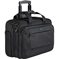 KROSER Rolling Laptop Briefcase Premium Laptop Bag Fits Up to 17.3 Inch Laptop Water-Repellent Wheeled Computer Bag…