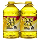 Pine-Sol 2 pk Multi-Surface Disinfectant Lemon Scent (Total of 200 oz)