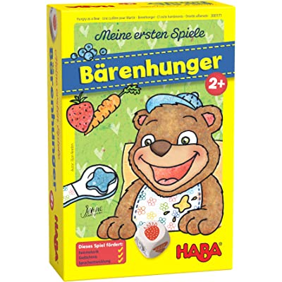 HABA My Very First Games - Hungry as a Bear - A Memory & Dexterity Game for Ages 2 and Up: Toys & Games