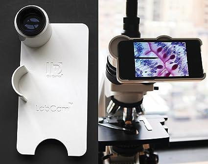 IDU labcam microscopio Adaptador para iPhone 7/8 Plus: Amazon.es ...