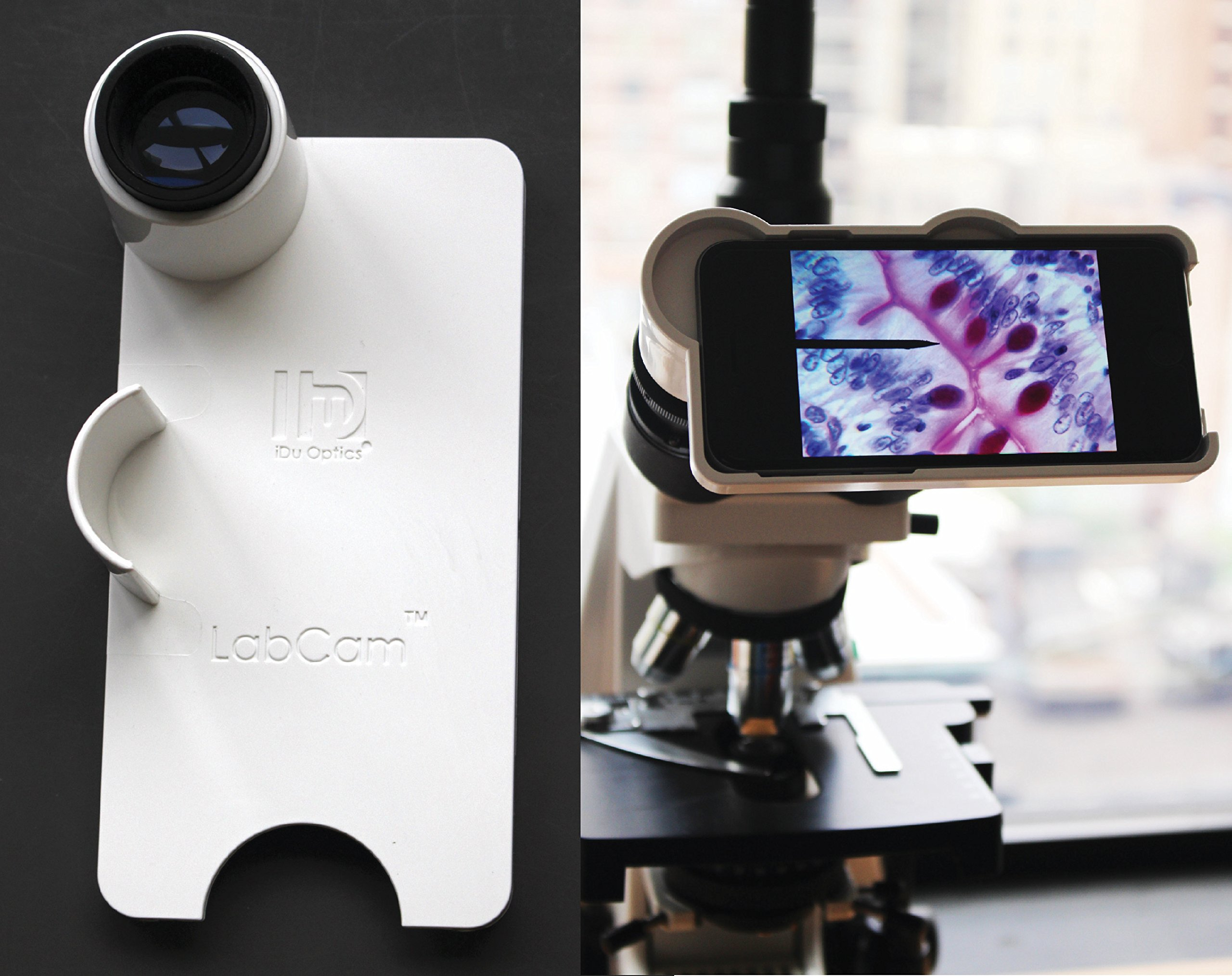 LabCam Microscope Adapter for iPhone 6/6S Plus by iDu Optics