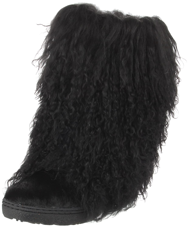 BEARPAW Women's Boetis II Mid-Calf Boot B004PY69DY 6 B(M) US|Black