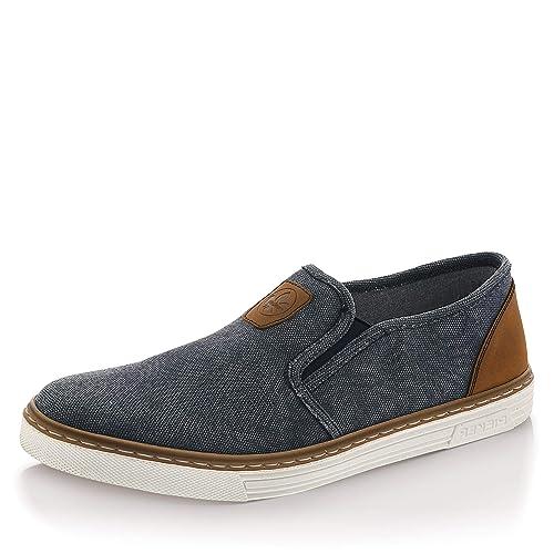 Rieker B4962-14, Zapatillas sin Cordones para Hombre: Amazon.es: Zapatos y complementos
