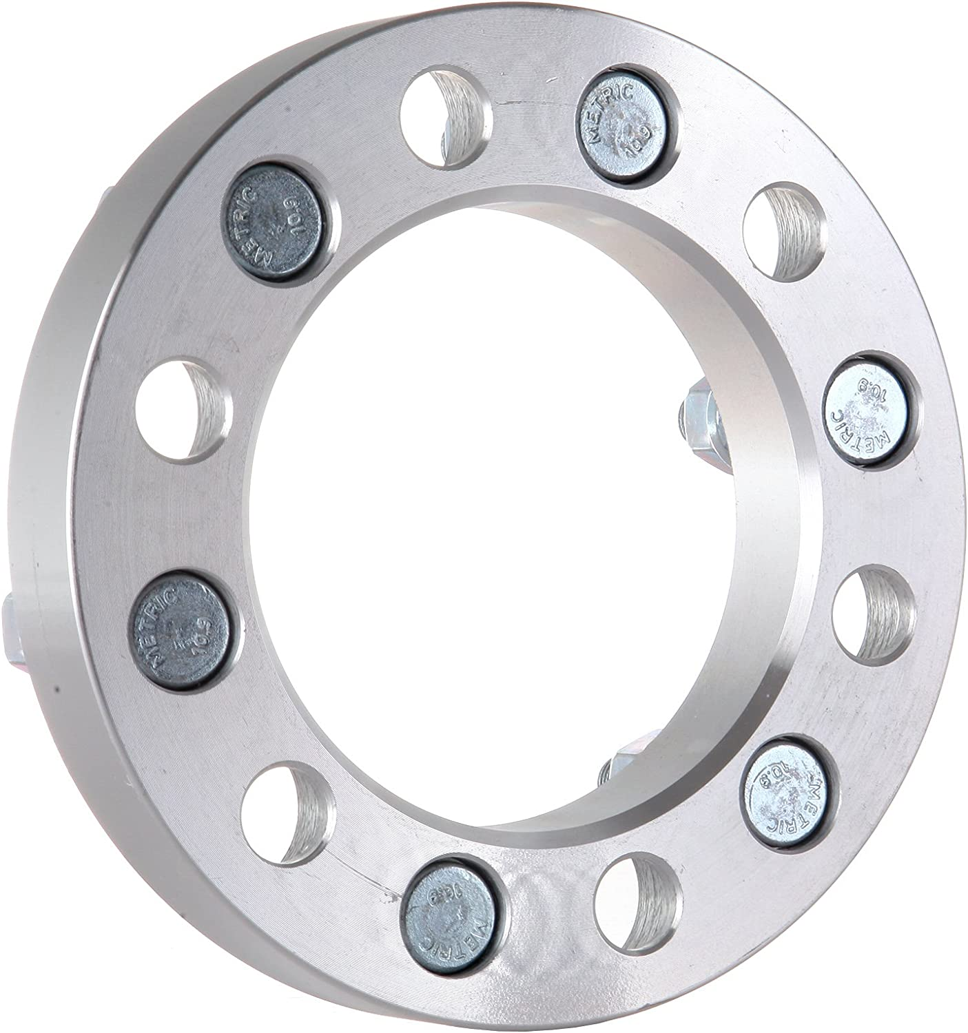cciyu 4set 6 lug Wheel Spacers 1 inch 25mm 6x5.5 to 6x5.5 6x139.7mm to 6x139.7mm Adapters Bolt On 12x1.25 Studs fit for 1995-1997 Nissan Pickup Pathfinder Trucks