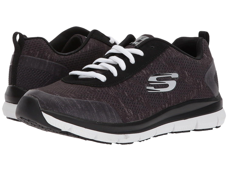 (スケッチャーズ) SKECHERS レディースワークシューズナースシューズ靴 Comfort Flex SR HC [並行輸入品] B07FS62PK2 6 (23cm) B Medium|グレー/ピンク グレー/ピンク 6 (23cm) B Medium