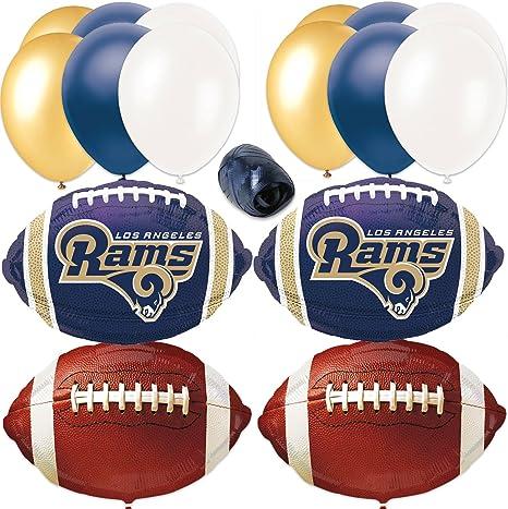 Amazon.com: Los Angeles RAM Super Bowl de fútbol decoración ...